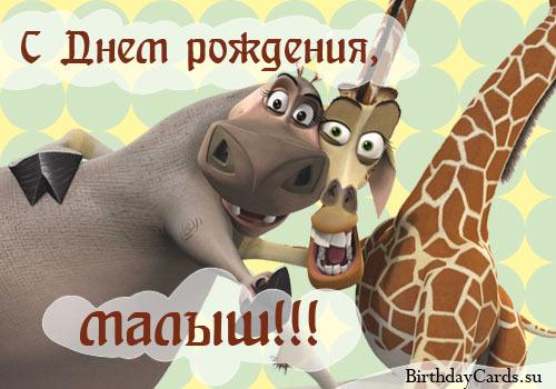 http://birthdaycards.su/wp-content/uploads/2011/08/otkrytka-s-dnem-rozhdeniya-malysh-s-geroyami-multfilma-madagaskar.jpg